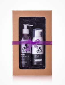 Peel - off gel mask with vitamin C